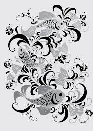 gray fish ornament royalty free stock image image 3992806