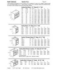 standard vanity height dimensions what is the standard height of