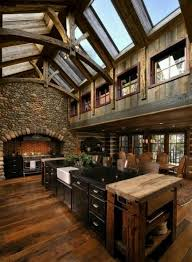 vaulted ceiling beams rustic kitchen with vaulted ceiling beams pictures photos and