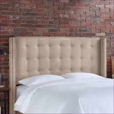 Leather Headboard King Bedroom Magnificent Diamond Tufted King Headboard Headboard