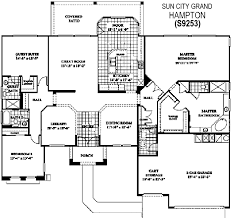grand floor plans city grand hton floor plan del webb sun city grand floor plan