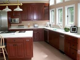 Diy Old Kitchen Cabinets Diy Kitchen Cabinets Redo Vintage Wood Flooring White Rectangle