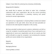 cover letter business format 28 images sle business cover