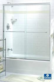 Mr Shower Door Mr Shower Door Luminescence Shower Sliding Door Thecu Co