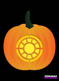 party city supplies halloween avengers pumpkin stencils party ideas u0026 activities by wholesale