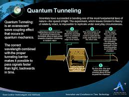 quantum tunneling time travel