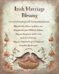 wedding blessings blessing with the claddagh for that special and groom