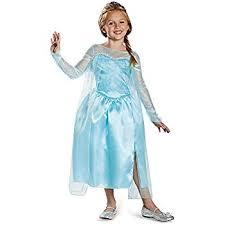 frozen costumes disney s frozen deluxe girl s costume 7 8 toys