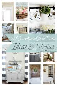 20 Farmhouse Style Decor Ideas & Projects Craft O Maniac