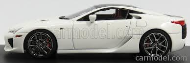 lexus lfa model mark43 pm4334cw scale 1 43 lexus lfa coupe 2012 white