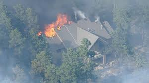 Wildfire Northern Colorado by More Homes Burn On Day 2 Of Black Forest Fire Cbs Denver