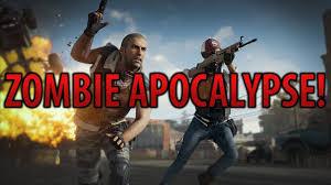 pubg zombie mod zombie apocalypse in pubg youtube