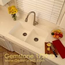 Solid Surface Sinks Kitchen Gemstone 1812 Vo Rectangle Solid Surface Universal Design Ada