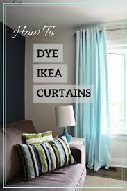 Merete Curtains Ikea Decor Aqua Blue Ikea Merete Curtain Hack The Vanderveen House