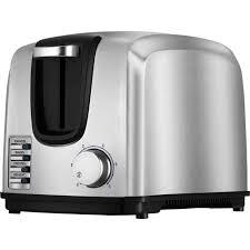 2 Slice White Toaster Black Decker 2 Slice Toaster Stainless Steel T2707s Walmart Com
