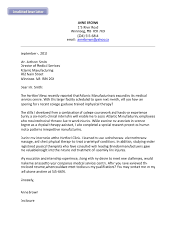professional physical therapist assistant cover letter sample