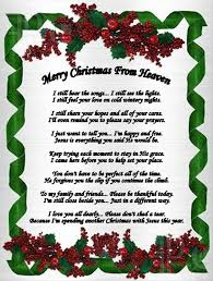 merry christmas from heaven merry christmas from heaven poem printable happy new year x christmas