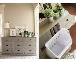 Space Saving Laundry Hamper by Diy Laundry Basket Dresser Shanty 2 Chic