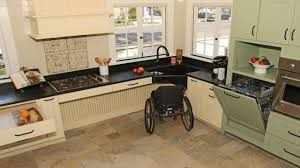 Universal Design Kitchen by Handicap Accessible Kitchen Cabinets