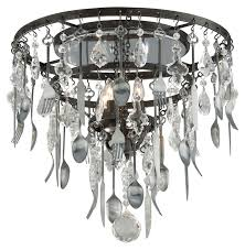 Pewter Ceiling Lights Troy C3800 Bistro Graphite Finish With Antique Pewter Flatware