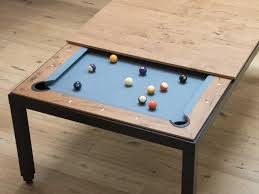 Dining Pool Table by Classy Dining Table Doubles As A Pool Table Connectedly
