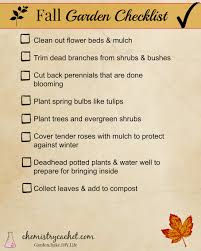 fall garden checklist for busy people gardens people and garden