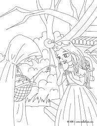 little snow white tale coloring pages hellokids com