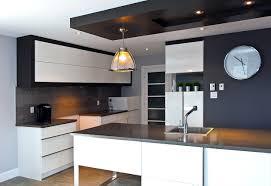 plafond de cuisine plafond suspendu lumineux cuisine et salle manger en avec un faux