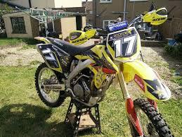 suzuki motocross bike suzuki rmz 250 2008 rmz250 dirt bike mx motocross not kxf crf yzf