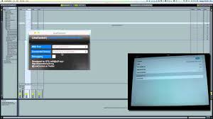 controlling ableton live from ipad with touchosc youtube