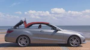 mercedes convertible 2014 mercedes e class convertible e350 cdi youtube
