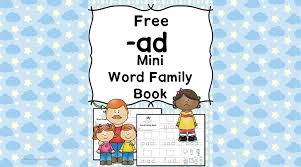 ad cvc word family worksheets word family cut paste activity