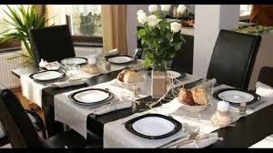 decorating ideas for dining room dining table decoration youtube