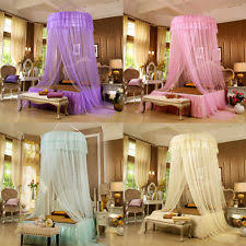 Lace Bed Canopy Canopy Bed Curtains Ebay