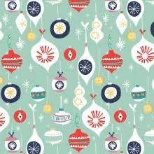 retro wrapping paper christmas cards and wrap rex london dotcomgiftshop