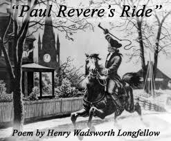 paul revere u0027s ride celebrating holidays