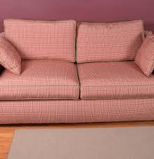 Sleeper Sofa With Memory Foam Plaid Sleeper Sofa Tourdecarroll Com