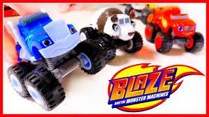 monster trucks for kids blaze blaze and the monster machines toys kids blaze and the monster