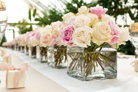 Small Flower Arrangements Centerpieces Wedding Buffet Ideas Using Flowers For Buffet Table Decorations