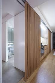 Retractable Room Divider Residential Om Tv Een Beetje Weg Te Werken Kastenwand Met Schuifdeuren