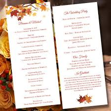 cheap wedding ceremony programs free ceremony program now and modify later when