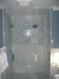 glass bathroom tiles ideas breathtaking white and grey color marble shower tiled for small