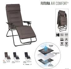 Lafuma Air Comfort Recliner Deck Home And Patio Inc Deck Home Patio Specialty Chairs Tables