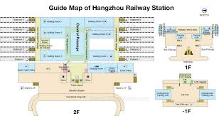 Station Square Floor Plans by Hangzhou Railway Station Train Tickets Schedule Map