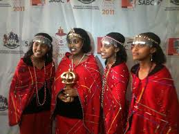 the moipei looking glam maasai attire and ornaments