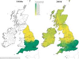 dialects in britain are disappearing as northerners increasingly