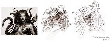 medusa u201d for clash of the titans