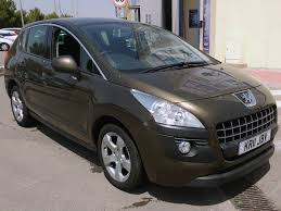 peugeot 2nd hand cars second hand peugeot 3008 rhd for sale san javier murcia