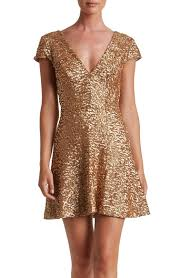 main image dress the population georgina sequin fit u0026 flare