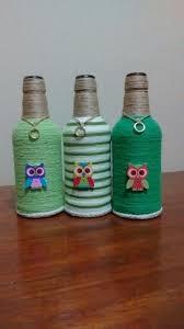 Wine Bottle Halloween Crafts by 671 Best Garrafas Decoradas Images On Pinterest Crafts